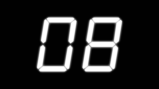 digital countdown - scoreboard stock videos & royalty-free footage