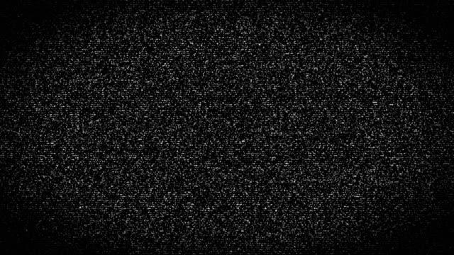 デジタル被害ノイズ - 4 k 解像度 - テレビの砂嵐点の映像素材/bロール