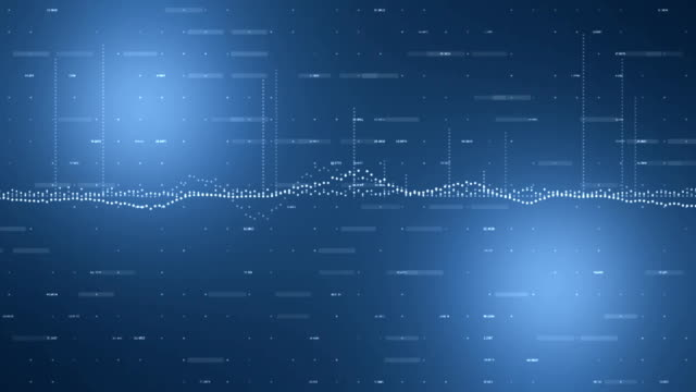Digital data koncept