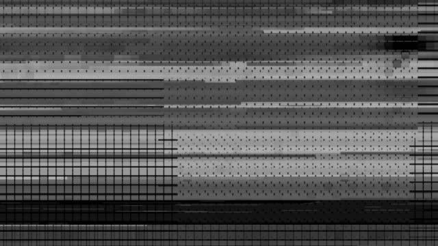 vídeos y material grabado en eventos de stock de mapa de glitch-desplazamiento de pantalla digital - pájaro carpintero escapulario