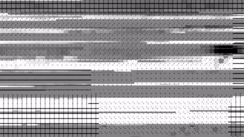 digitalanzeige-glitch-verschiebungs-map - schwarzweiß bild stock-videos und b-roll-filmmaterial