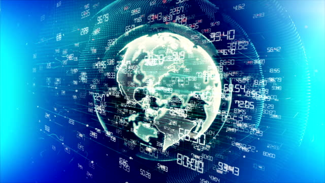 digital earth - longitude stock videos & royalty-free footage