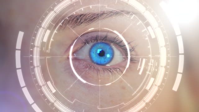 digital eye - identity stock videos & royalty-free footage