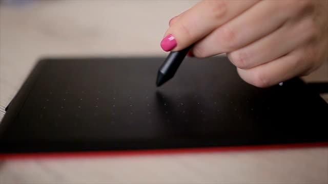 デジタル生成された画像やアニメーション、b ロール - ペン点の映像素材/bロール