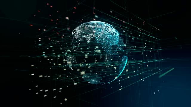 Digitale Globe, netwerktechnologie