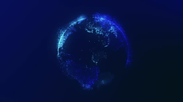 digital globe - chain object stock videos & royalty-free footage