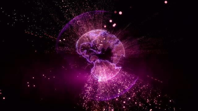digital globe - pointing stock videos & royalty-free footage
