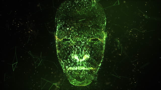 digital head 4k - nanotechnology stock videos & royalty-free footage
