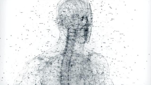 corpo umano digitale - human body part video stock e b–roll