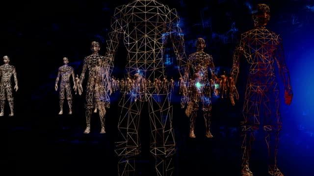 Digitala människor i en teknisk miljö