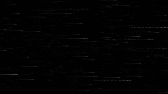 vídeos de stock e filmes b-roll de digital interface - código binário