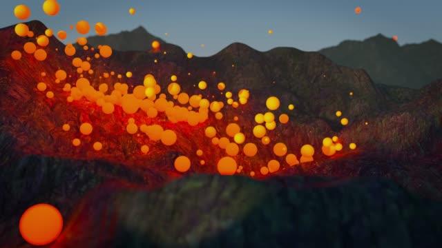 digital lava - star field stock videos & royalty-free footage
