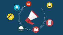 Digital marketing concept (Social Media)
