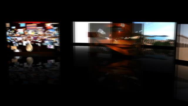 vídeos de stock e filmes b-roll de memórias digital - painel de cristal líquido