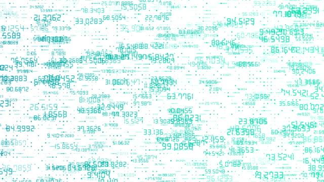 デジタル ネットワーク番号 - 文字点の映像素材/bロール