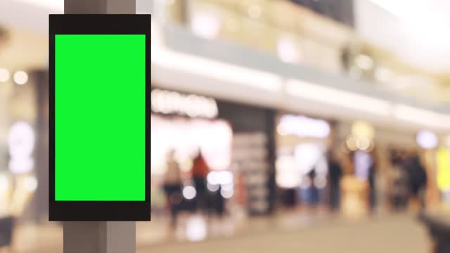 digital sign in a shopping mall - billboard stock videos & royalty-free footage
