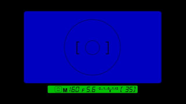 vídeos de stock e filmes b-roll de visor digital slr ecrã azul filtro - temas fotográficos