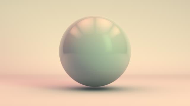 digital sphere distortion (loop). - 尖っている点の映像素材/bロール