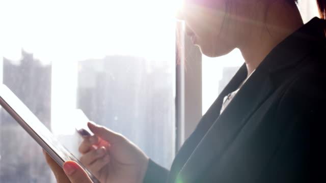 Digital-Tablette mit Zahlung