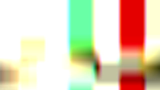 digital television glitch pattern - distorted stock videos & royalty-free footage
