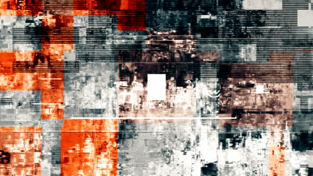 digital television glitch pattern - grainy stock videos and b-roll footage
