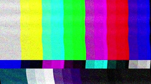 vídeos y material grabado en eventos de stock de patrón de falla de televisión digital - mensaje de error