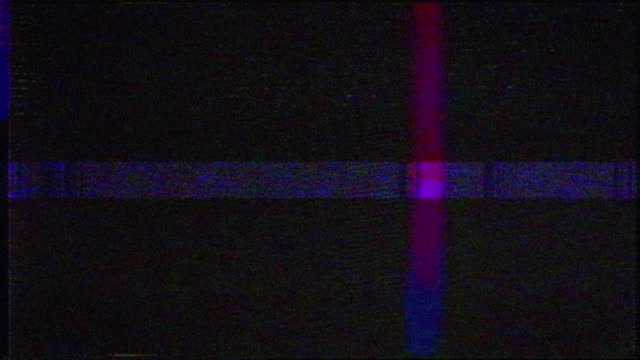 digitales fernsehen glitzert das statische muster des fernsehens - verletzung stock-videos und b-roll-filmmaterial