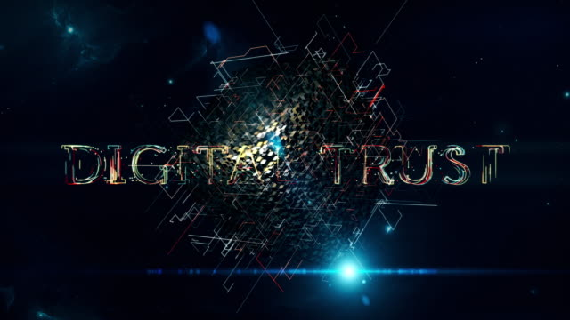 digital trust cube - trust stock videos & royalty-free footage