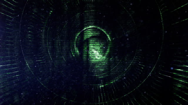 digital tunnel journey - binary code stock videos & royalty-free footage