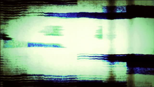 digital tv noise (loop). - kommunikationsproblem bildbanksvideor och videomaterial från bakom kulisserna