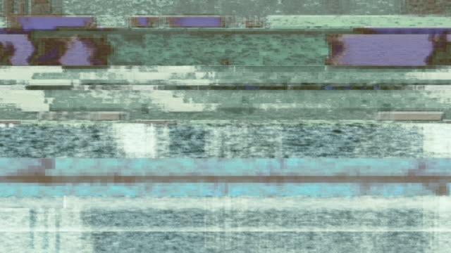 digital video glitch malfunction - felmeddelande bildbanksvideor och videomaterial från bakom kulisserna