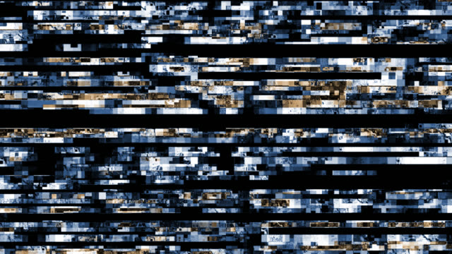 digital video malfunction (loop). - television static stock videos and b-roll footage