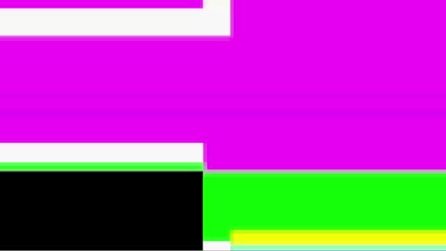 Digital video malfunction (Loop).