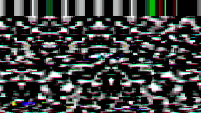 digital video malfunction - glitch technique stock videos and b-roll footage