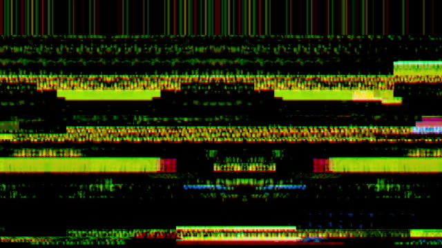 digital video malfunction - glitch technique stock videos & royalty-free footage