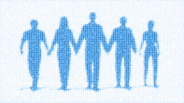 De-obra Digital equipa de pessoas (Loop
