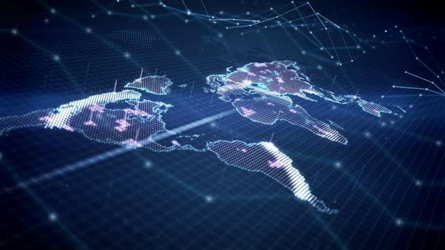 Mondo digitale mappa