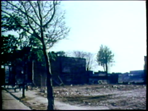 dilapidated area in city/ usa/ audio - run down stock videos & royalty-free footage