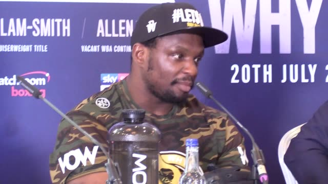 dillian whyte has cast himself as the underdog heading into saturday's clash with oscar rivas at the o2 arena despite being installed as the... - heavyweight stock videos and b-roll footage