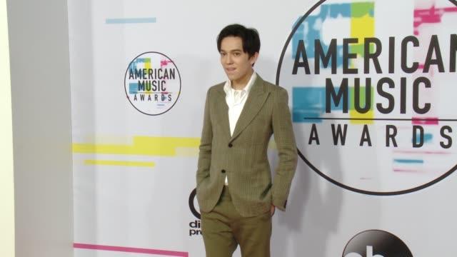 Dimash Kudaibergen at 2017 American Music Awards on November 19