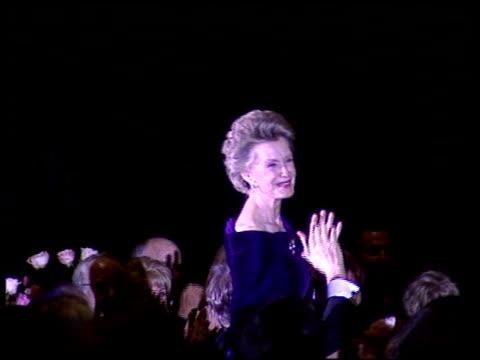 Dina Merrill at the American Cinema Awards at the Biltmore Hotel in Los Angeles California on November 2 1996