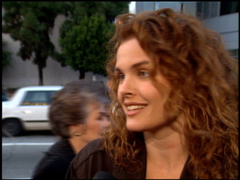 vidéos et rushes de dina meyer at the 'bad boys' premiere at the cinerama dome at arclight cinemas in hollywood california on april 6 1995 - dina meyer