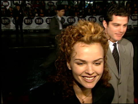 Dina Meyer at the 'Daylight' Premiere at Grauman's Chinese Theatre in Hollywood California on December 5 1996