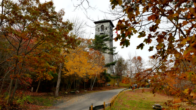 dingle tower in halifax, nova scotia - natural parkland stock videos & royalty-free footage
