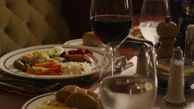 dinner table - meal stock videos and b-roll footage