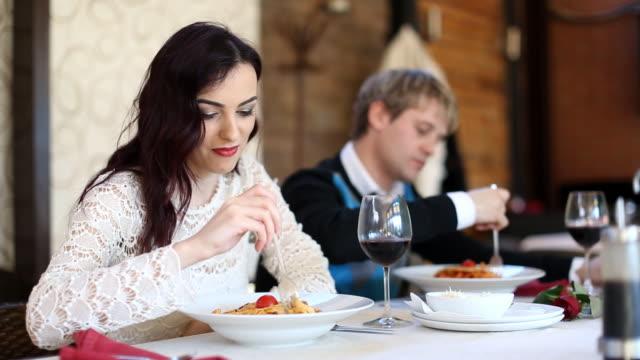 dinner (hd) - fork stock videos & royalty-free footage