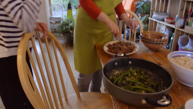 dinners ready! - crucifers stock videos & royalty-free footage