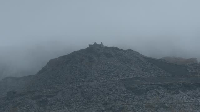 dinorwic quarry in the mist - condensation stock videos & royalty-free footage