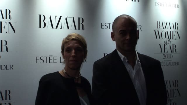 Dinos Chapman arrives for the Harper's Bazaar Awards Harper's Bazaar Women Of The Year Awards at One Mayfair on November 01 2010 in London