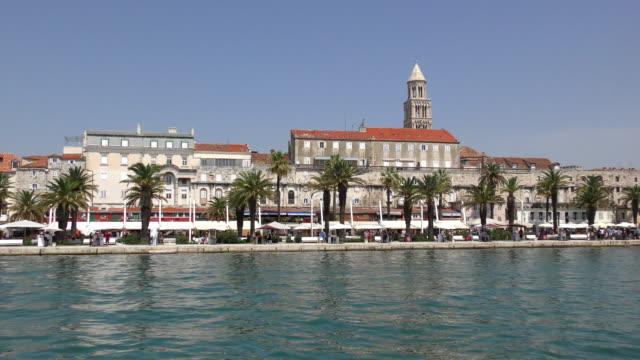 Diokletian Palast und Riva - Split, Kroatien
